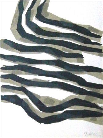 Lithographie Ubac - Limites