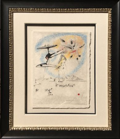 Gravure Dali - L'Incantation from the Les Rois Mages Portfolio
