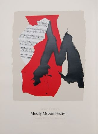 Lithographie Motherwell - Lincoln Center Mostly Mozart, 25th Anniversary