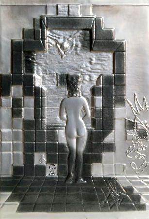 Lithographie Dali - Lincoln in Dalivision
