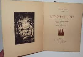 Livre Illustré Simon-Barboux - L'indifférent