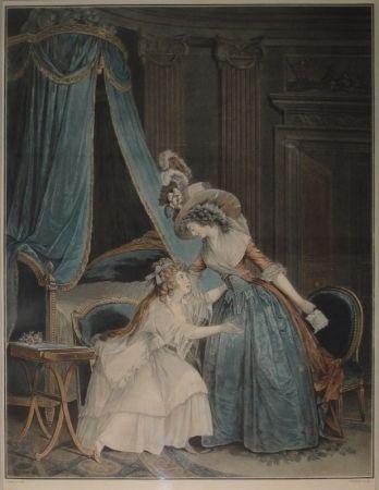 Eau-Forte Et Aquatinte Janinet - L'Indiscretion
