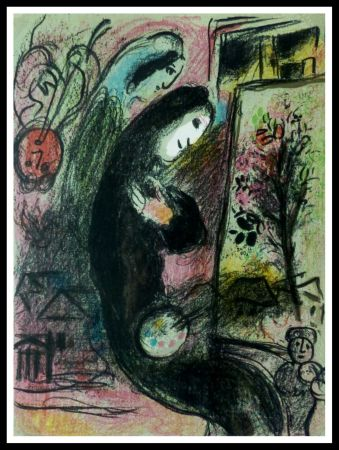 Lithographie Chagall - L'INSPIRE