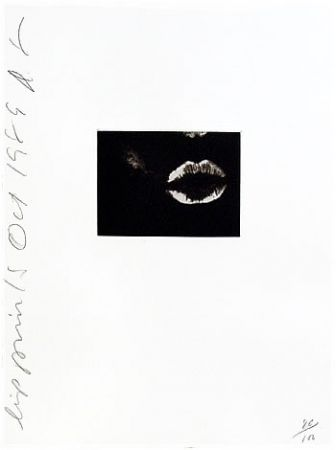 Aquatinte Sultan - Lip Print