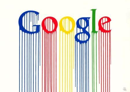 Sérigraphie Zevs - Liquidated Google