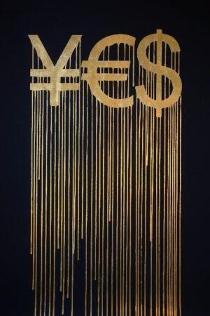 Sérigraphie Zevs - Liquidated YES