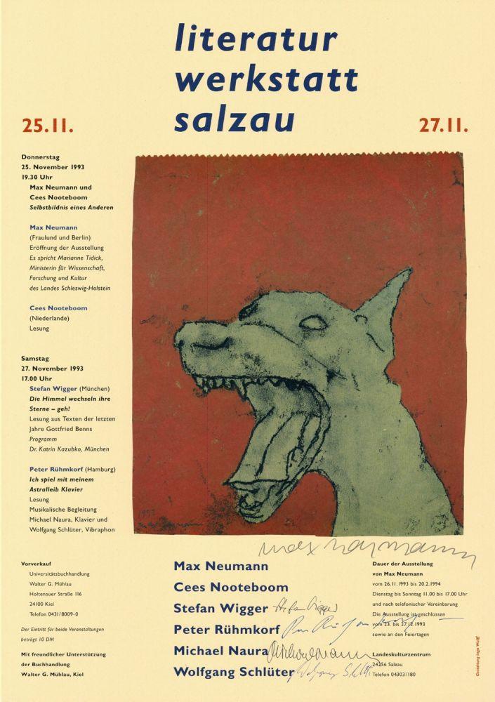 Affiche Neumann - Literatur Werkstatt Salzau