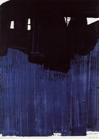 Lithographie Soulages - Litho n° 23