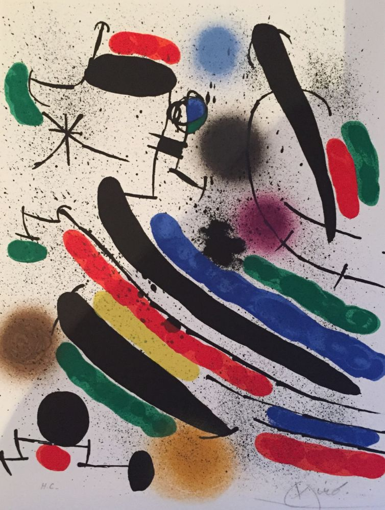 Lithographie Miró - Lithograph I