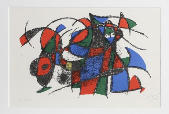 Lithographie Miró - Lithograph III