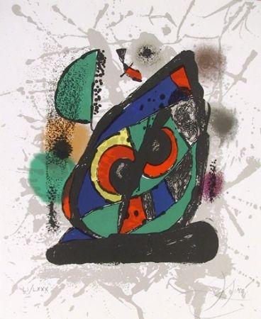 Lithographie Miró - Lithograph IV