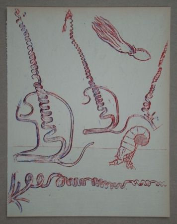 Lithographie Ernst - Lithograph Pour Xxe Siècle