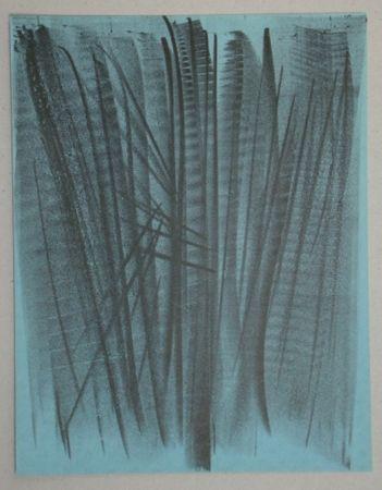 Lithographie Hartung - Lithograph pour XXe Siècle, 1964