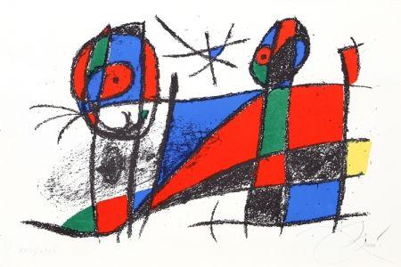 Lithographie Miró - Lithograph VI (M. 1042)