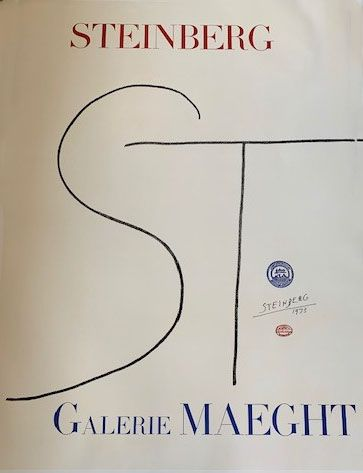 Lithographie Steinberg - Lithographic poster