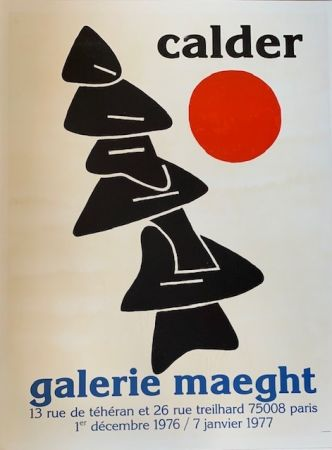 Lithographie Calder - Lithographic poster