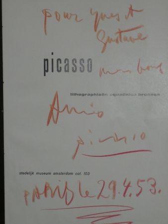 Livre Illustré Picasso - Lithographieën, aquatintes bronzen