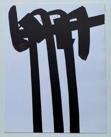 Lithographie Soulages - Lithographie 28