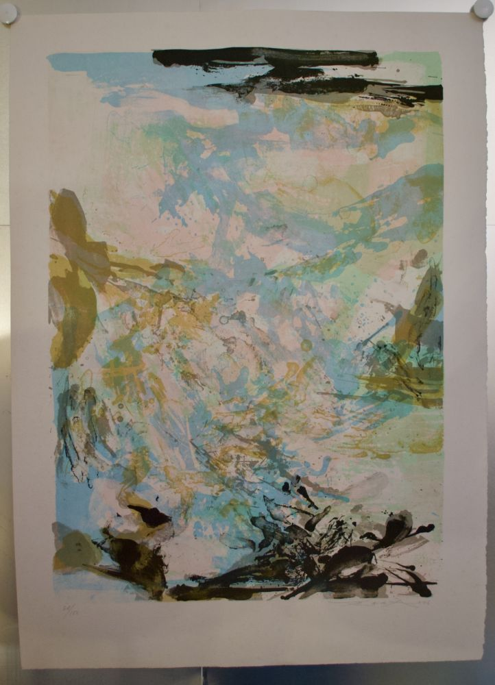 Lithographie Zao - Lithographie AGERUP 269