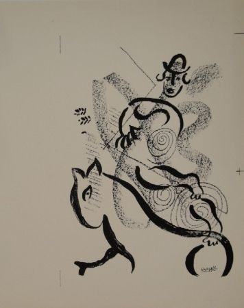 Lithographie Chagall - Lithographie für
