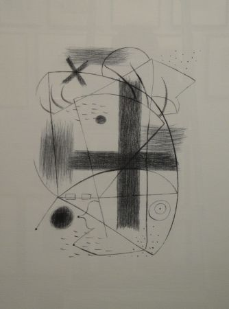 Lithographie Miró - Lithographie II