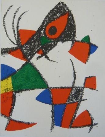 Photographie Miró - Lithographie II Miro lithographe II