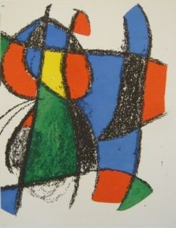 Lithographie Miró - Lithographie  Miro Lithographe II