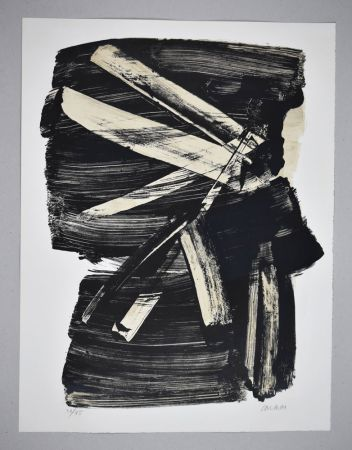 Lithographie Soulages - Lithographie n°10
