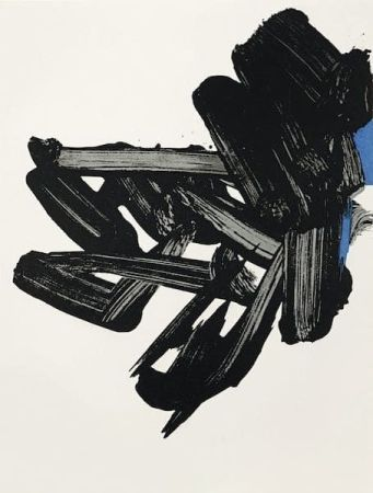 Lithographie Soulages - Lithographie n°17