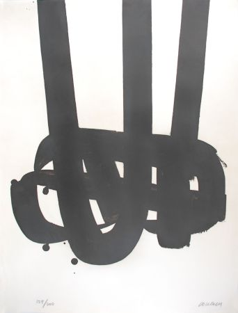 Lithographie Soulages - Lithographie n°29