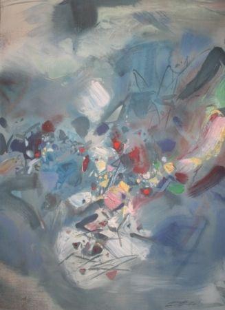 Lithographie Chu Teh Chun  - Lithographie n°3