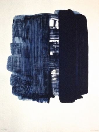 Lithographie Soulages - Lithographie n°33
