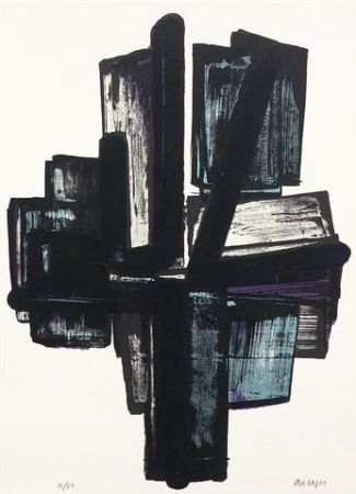 Lithographie Soulages - Lithographie n°4