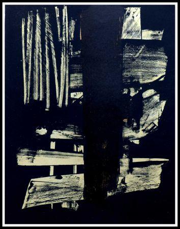 Aucune Technique Soulages - Lithographie N°9