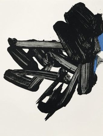 Lithographie Soulages - Lithographie n° 17