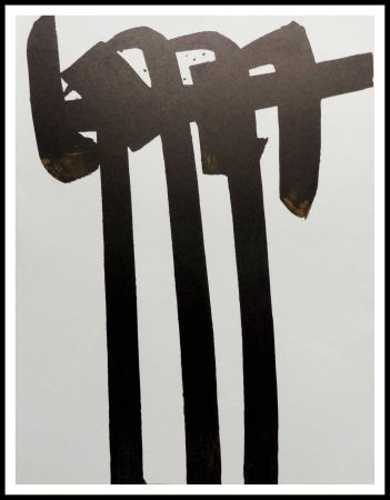 Lithographie Soulages - LITHOGRAPHIE N° 28