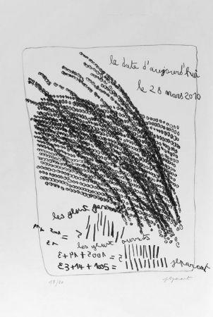 Lithographie Parant - Lithographie originale / Original lithograph