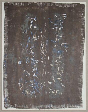 Lithographie Zao - Lithographie Originale Pour Xxe Siècle