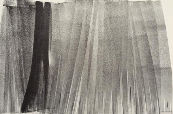 Lithographie Hartung - Lithographie originale. Signée.