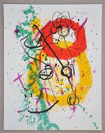 Lithographie Miró - Lithographie pour XXe Siècle
