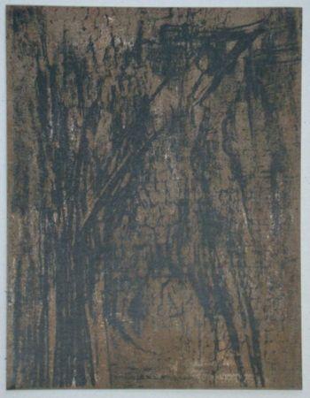 Lithographie Vieira Da Silva - Lithographie pour XXe Siècle, 1962