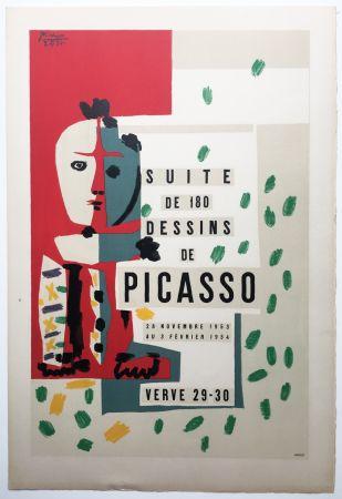 Lithographie Picasso - LITHOGRAPHIE: SUITE DE 180 DESSINS. VALLAURIS VERVE 29-30. 1953-1954