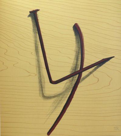 Lithographie Ray - Lithographie sur vélin d'Arches