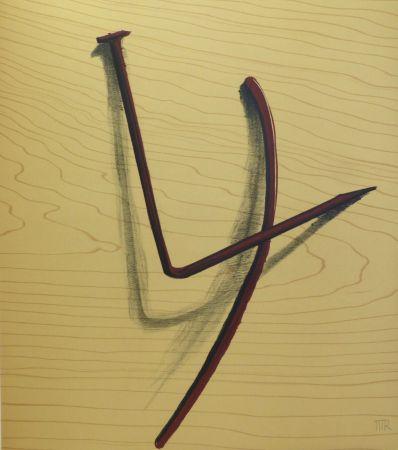 Aucune Technique Ray - Lithographie sur vélin d'Arches. 1973.