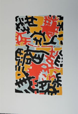 Lithographie Capogrossi - Litografia 71