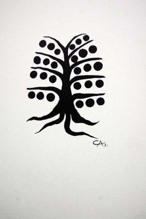 Lithographie Calder - Litografia Original Derriere Le Miroir - 1971