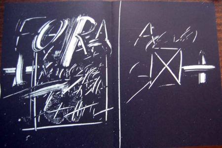 Lithographie Tapies - Litografia Original Derriere Le Miroir - 1974