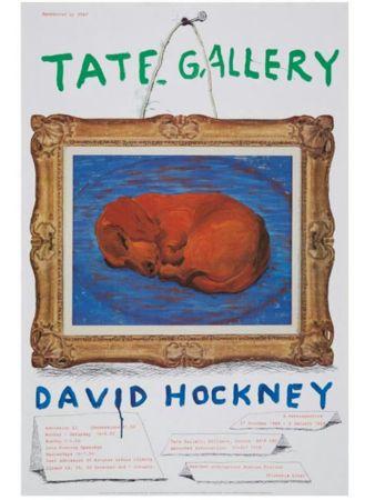 Affiche Hockney - Little Stanley Sleeping Tate Gallery