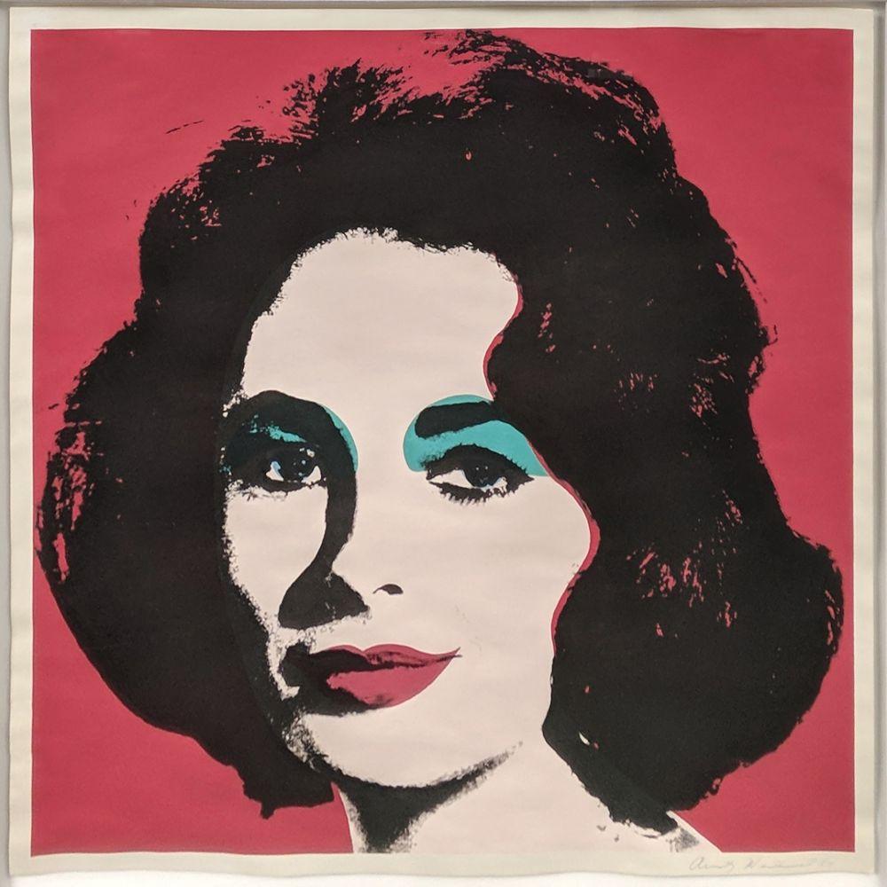 Lithographie Warhol - LIZ FS II.7