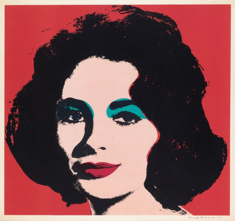 Sérigraphie Warhol - Liz (FS II.7)